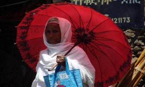 Zdjęcie ETIOPIA / Etiopia / Etiopia / Parasolka