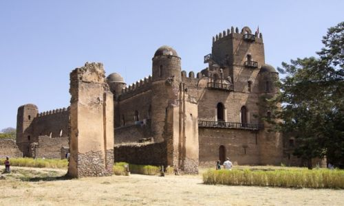 Zdjęcie ETIOPIA / Gondar / Gondar / Fasil Ghebbi