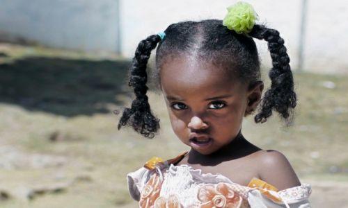 ETIOPIA / Dire Dawa / Harar / Dziewczynka z Harar