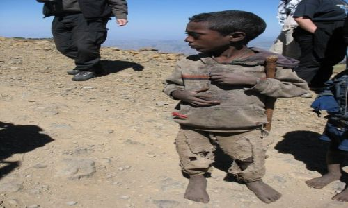 Zdjecie ETIOPIA / - / Góry Siemen / Dziecko z Gór Siemen