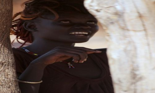 Zdjecie ETIOPIA / Arba Minch / Poludnie Etiopii / Etiopska modelka