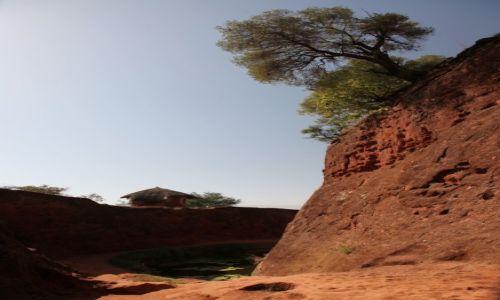 Zdjęcie ETIOPIA /  Amhara / Lalibela / Przed kościołem Emmanuela