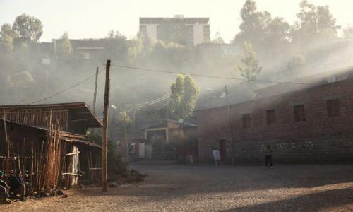 Zdjęcie ETIOPIA /  Amhara / Lalibela / O poranku