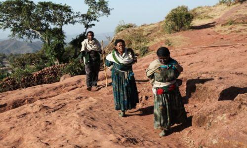 Zdjęcie ETIOPIA /  Amhara / Lalibela / W drodze
