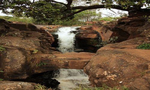 Zdjecie ETIOPIA / Dolina Omo / Okolice Gesuba / Wodospad