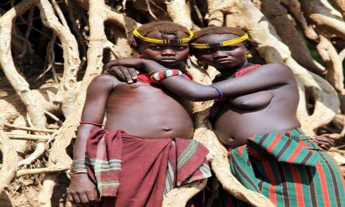 Zdjecie ETIOPIA / Dolina Omo / Okolice wioski Dasench / Trzymając się korzeni