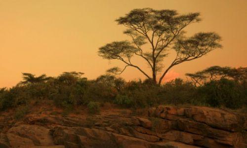 Zdjęcie ETIOPIA / Dolina Omo / Rzeka Keske / Pod wieczór