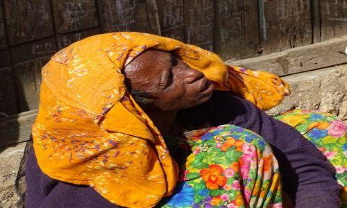 Zdjęcie ETIOPIA / Harar / na targu / Słucham?