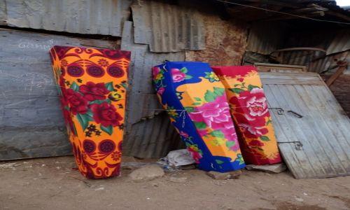 Zdjecie ETIOPIA / Harar / na targu / ... kolorowa śmierć