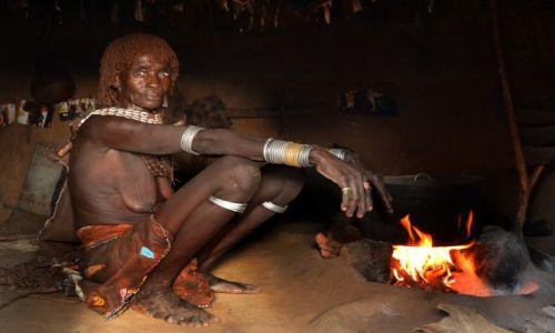 Zdjęcie ETIOPIA / okolice Konso / wioska Hamerów / z wizytą :)