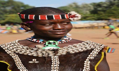 ETIOPIA / Dolina Omo / tereny Konso / Na targu