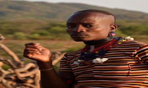 Zdjęcie ETIOPIA / Dolina Omo / wioska Hamerów / Hamer