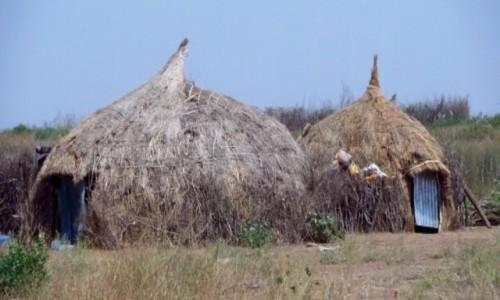 Zdjecie ETIOPIA / Dolina Omo / wioska / Wioska plemieni