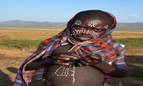 Zdjecie ETIOPIA / Dolina Omo / wioska Karo / Na potrzeby turystów