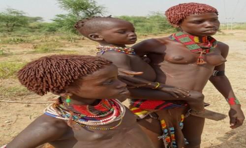 Zdjęcie ETIOPIA / Dolina Omo / gdzieś po drodze... / Mama Hamerka
