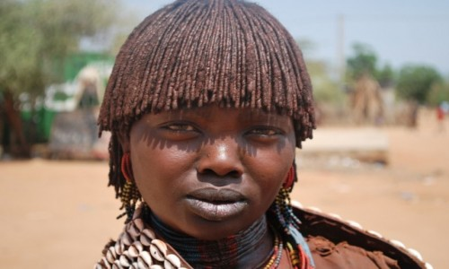 Zdjecie ETIOPIA / Dolina rzeki Omo / Południowa Etiopia / Na dzień dobry i dobranoc...