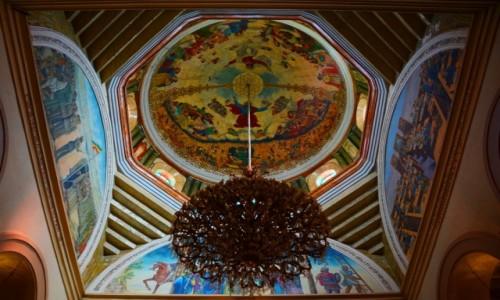 Zdjęcie ETIOPIA / Wyżyna Abisyńska / Addis Abeba / w kościele Świętej Trójcy