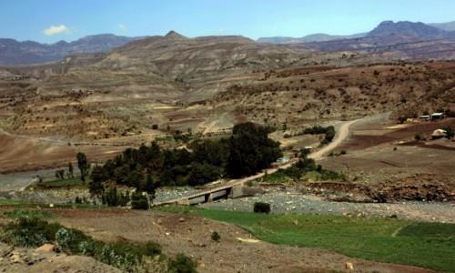 Zdjęcie ETIOPIA / Amhara / Lalibela / Droga