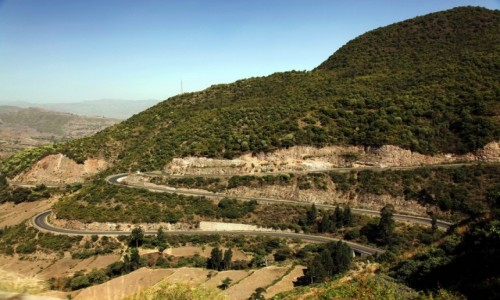 Zdjęcie ETIOPIA / Amhara / Dessie / Droga