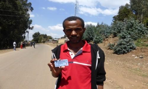 ETIOPIA / STOLICA / Addis Abbaba / GASHAW - PRZYJACIEL Z ADDIS