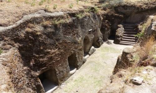 ETIOPIA / CENTRALNA ETIOPIA / CENTRALNA ETIOPIA / Adadi Marjam - kościół skalny