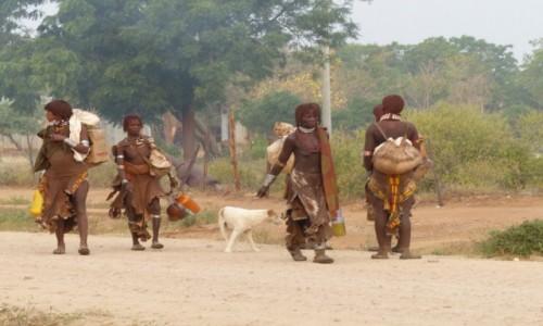 ETIOPIA / DOLINA OMO / TURMI / Ludzie Hamer