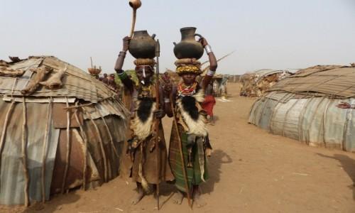ETIOPIA / Dolina Omo / WIOSKA DANSSEANACH�W / WIOSKA DASSEANACH�W