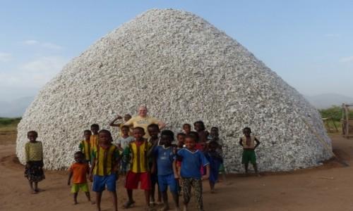 Zdjęcie ETIOPIA / DOLINA OMO / Droga / Fabryka bawełny- przy drodze
