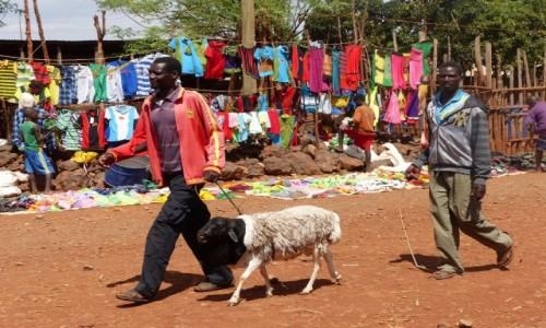 ETIOPIA / DOLINA OMO / Konso / Targ niedaleko Konso
