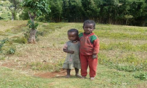 Zdjęcie ETIOPIA / DOLINA OMO / Dorze / Maluchy Dorze