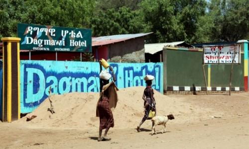 Zdjęcie ETIOPIA / Dolina Omo / Omorate / Do hotelu