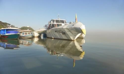 Zdjęcie ETIOPIA / Połnoc / Lake Tana / Statek ptak