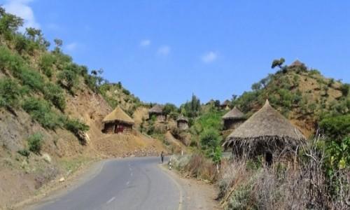 Zdjęcie ETIOPIA / Północno-wschodnia Etiopia / - / Wioska ludu Wollo