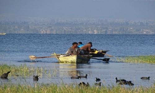 Zdjecie ETIOPIA / Great Rift Valley / Awassa / Jezioro Awassa