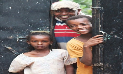 ETIOPIA / Dolina Omo / Gesuba  / Ciekawość