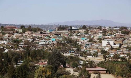 ETIOPIA / Harari / Harar  / Panorama miasta