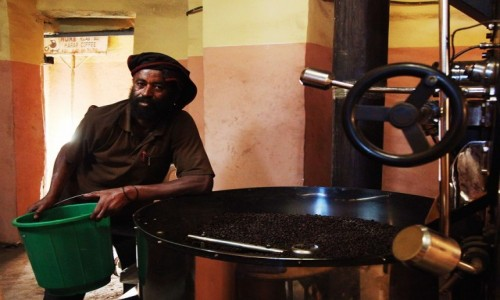 Zdjecie ETIOPIA / Harari / Harar  / W palarni kawy