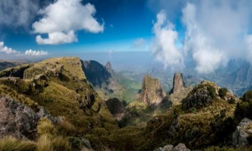 Zdjecie ETIOPIA / Simien / Imet Gogo / W chmurach