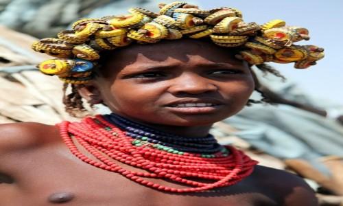 Zdjęcie ETIOPIA /  Dolina Omo / Wioska Dasench  / Modnisia