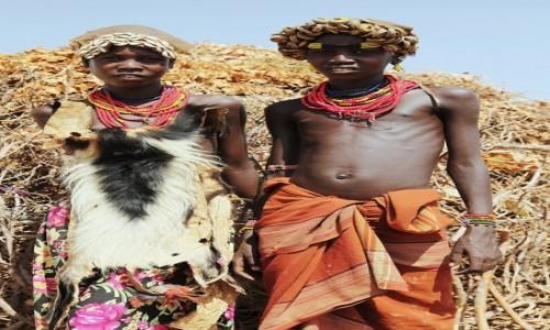 Zdjęcie ETIOPIA /  Dolina Omo / Wioska Dasench  / Para