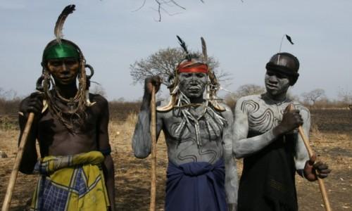 Zdjecie ETIOPIA / Południe / Okolice jeziora Turkana / Panowie Mursi