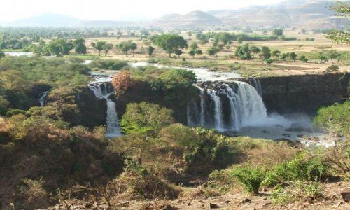 Zdjęcie ETIOPIA / brak / Bahir Dar / Tis Isat- wodospad Błękitnego Nilu