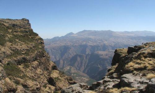 Zdjęcie ETIOPIA / Góry Siemen / Siemen Mountains / Nadal księżycowo