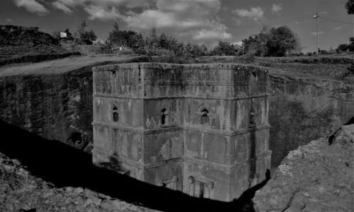 Zdjecie ETIOPIA / Amhara / Lalibela / Kościół Św. Jerzego (Bete Giorgis)
