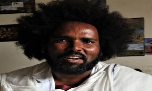 Zdjecie ETIOPIA / Addis Abeba / Itegue Taitu Hotel / 12 września Etiopski Nowy Rok - Życzenia Balehageru