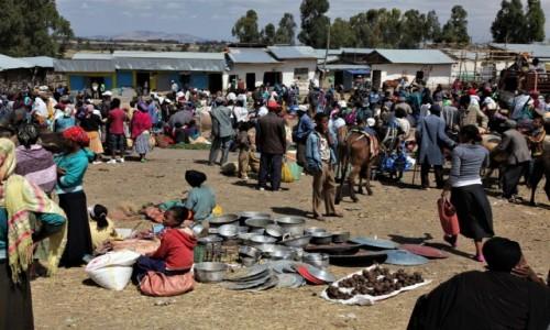 Zdjecie ETIOPIA / Arba Minch / Adadi / W dzień targowy
