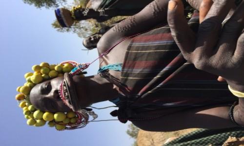 Zdjecie ETIOPIA / Dolina / Omo / Kolory