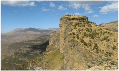 Zdjecie ETIOPIA / Siemen Mts / Siemen Mts / Skały i urwiska Siemen Mts