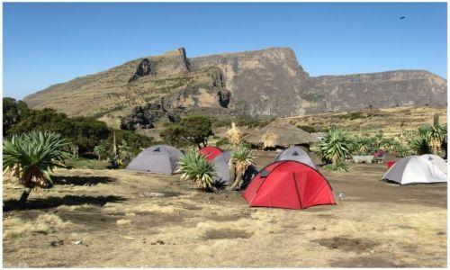 Zdjecie ETIOPIA / Siemen Mts / Siemen Mts / Wreszcie w bazie...