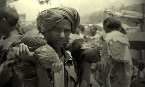 Zdjecie ETIOPIA / Dolina Omo / napotkany po drodze targ / na targu